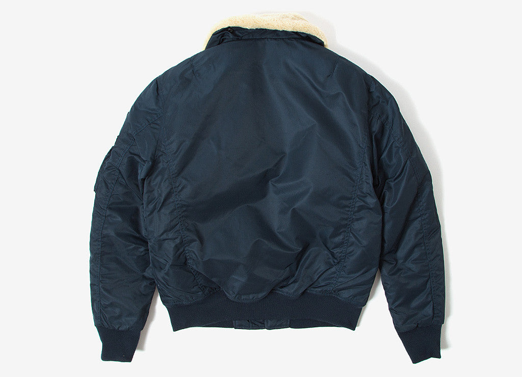 Schott NYC Pilote Jacket - Navy