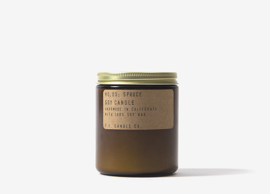 P F  Candle Co  Spruce Soy Candle - 7 2o/z