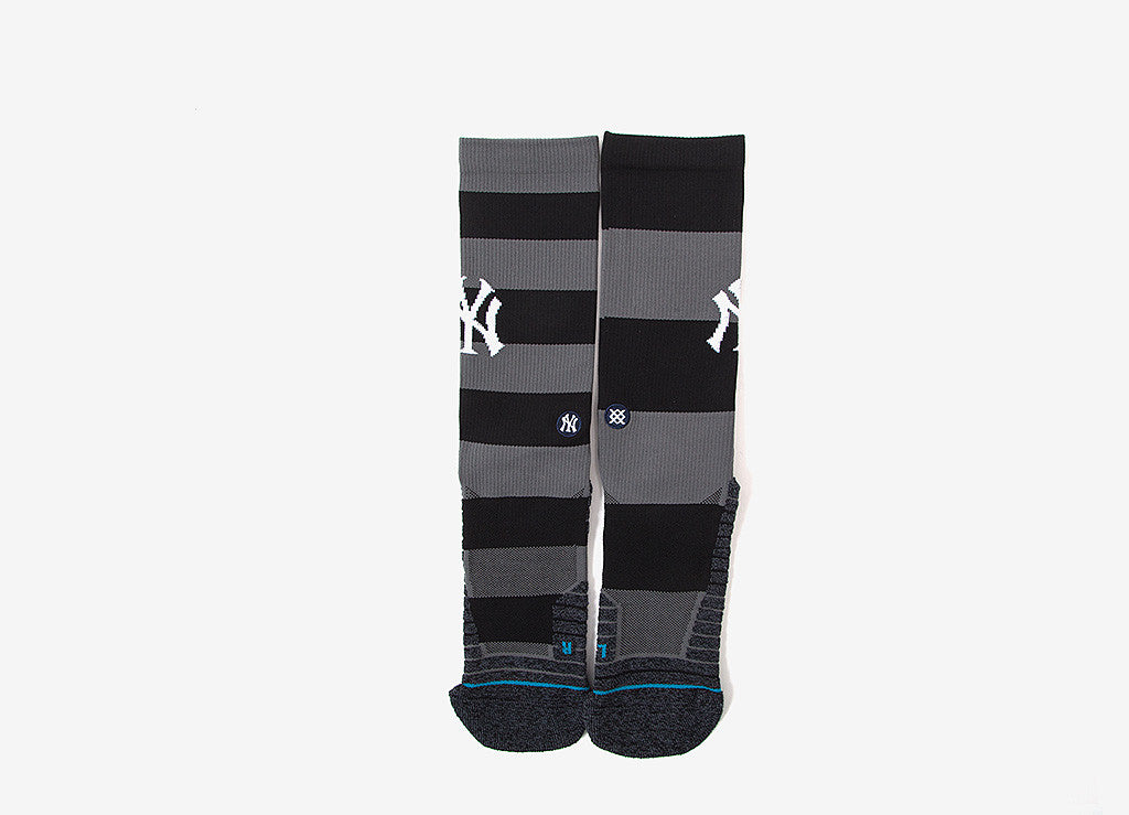 Stance MLB Yankees Nightshade Socks - Black/Grey