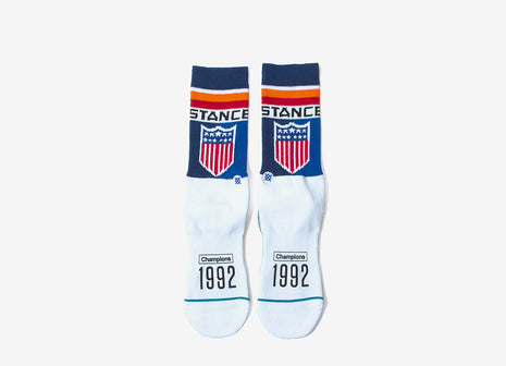 Stance Decathlon Socks - Navy