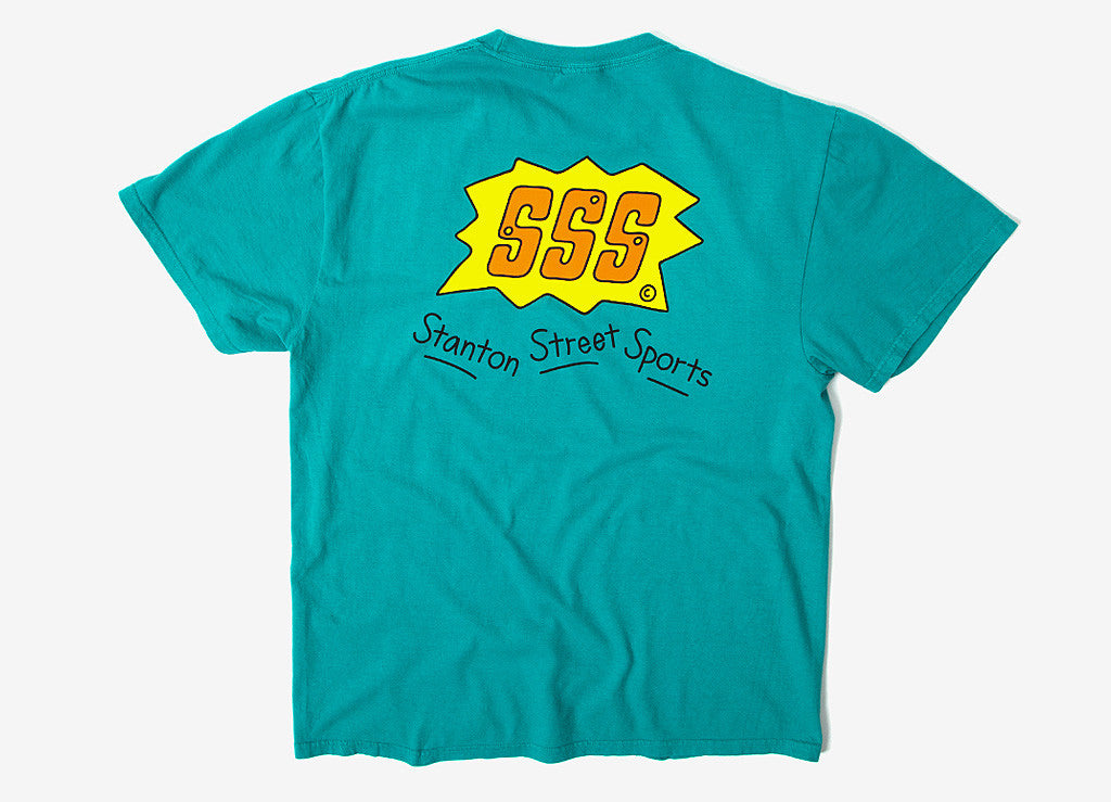 Stanton Street Sports Flash T Shirt - Jade