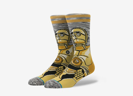 Stance x Star Wars Android Socks - Grey