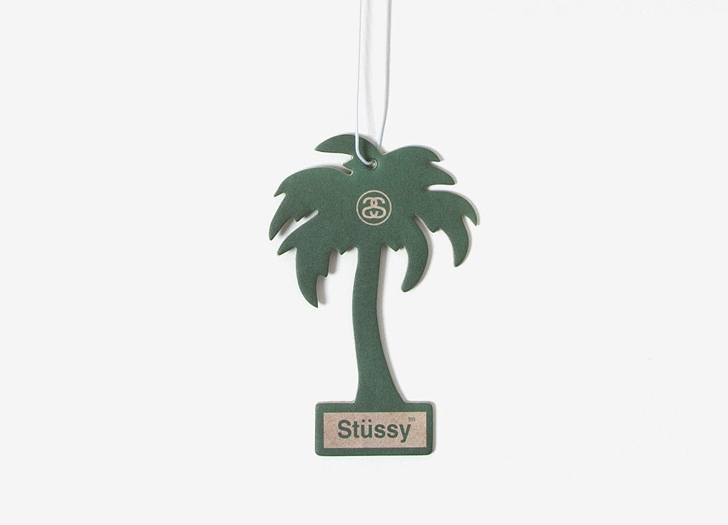 Stussy Palm Tree Air Freshener - Green