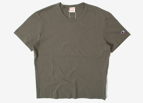 Champion Reverse Weave Classic T Shirt - Olive