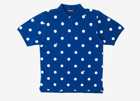 The Hundreds Away Polo T Shirt - Blue