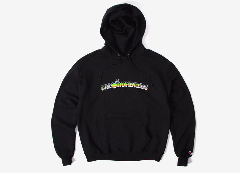The Hundreds Beholden Bar Pullover Hoody - Black