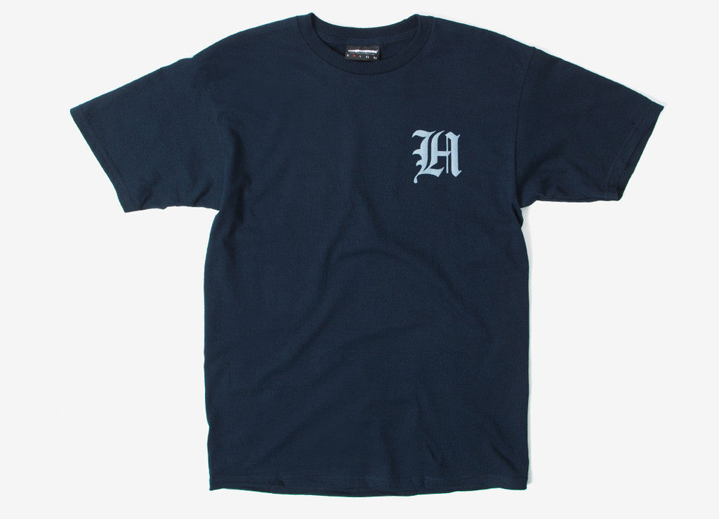 The Hundreds Old H T Shirt - Navy