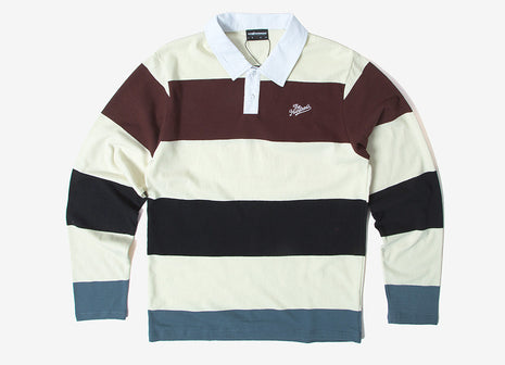 The Hundreds Budrow LS Polo Shirt - White