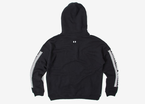 The Hundreds Campbell Pullover Hoody - Black