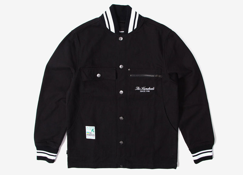 The Hundreds Central Jacket - Black