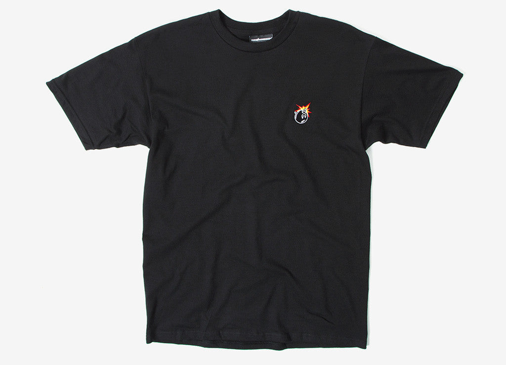 The Hundreds Crest Adam T Shirt - Black