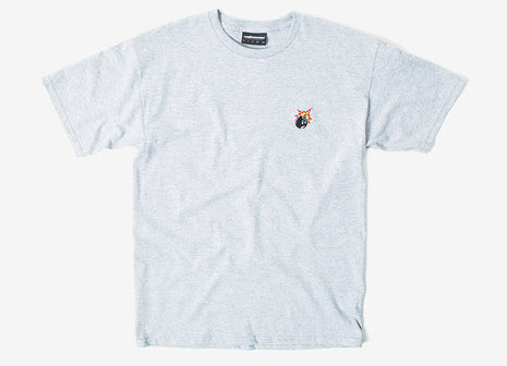 The Hundreds Crest Adam T Shirt - Athletic Heather
