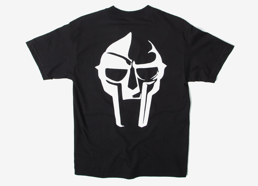 The Hundreds x MF DOOM Mask T Shirt - Black