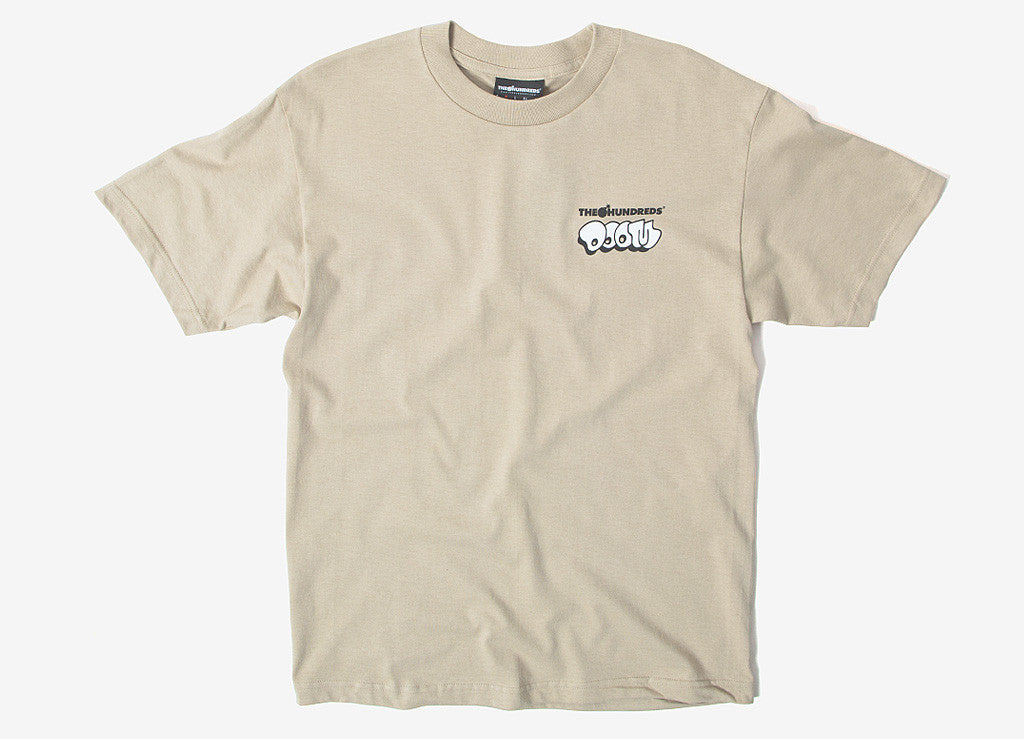 The Hundreds x MF DOOM Mask T Shirt - Sand