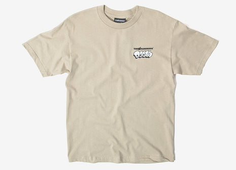 The Hundreds x DOOM Mask T Shirt - Sand