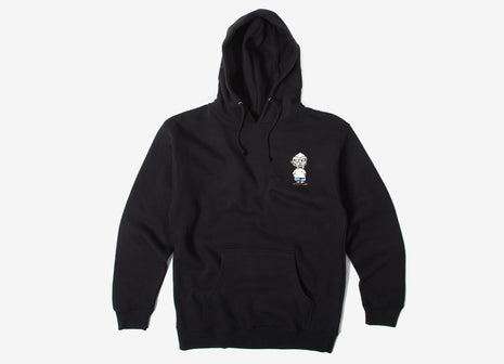 The Hundreds x DOOM Villy Pullover Hoody - Black