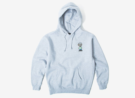 The Hundreds x DOOM Villy Pullover Hoody - Athletic Heather