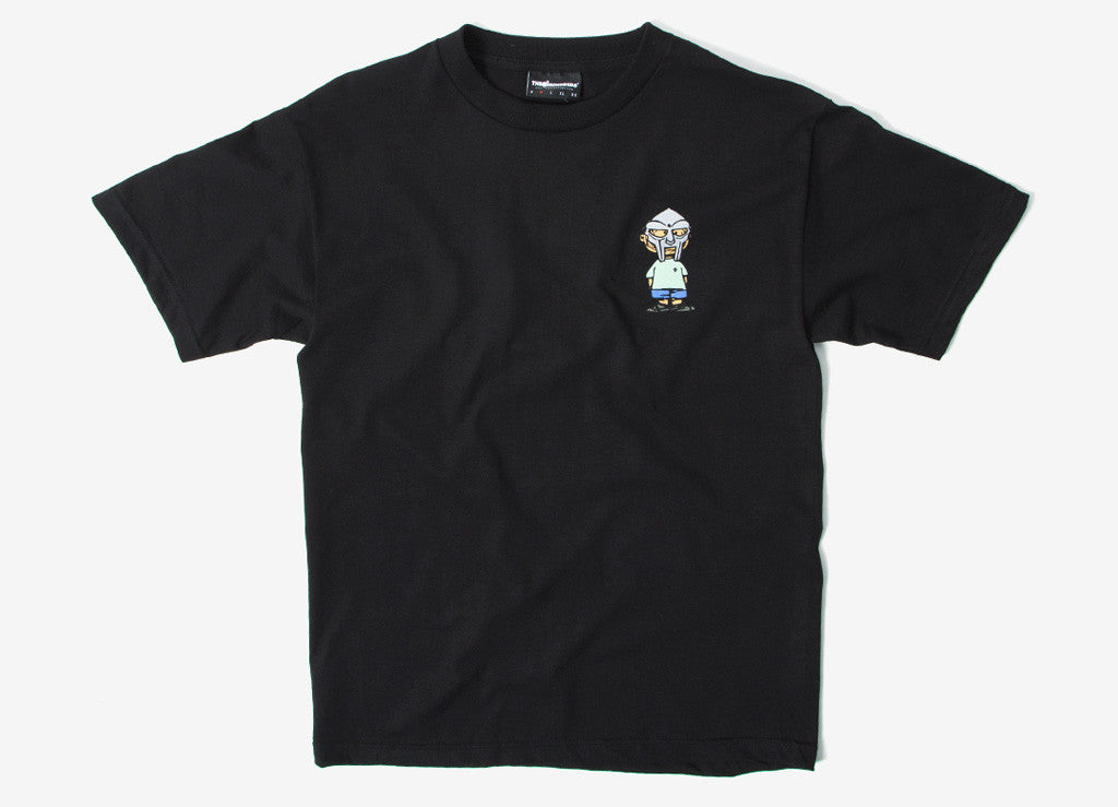 The Hundreds x MF DOOM Villy T Shirt - Black