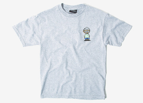 The Hundreds x DOOM Villy T Shirt - Athletic Heather