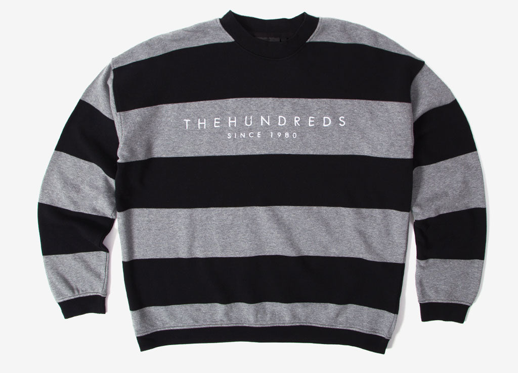 The Hundreds Elm Crewneck Sweatshirt - Black