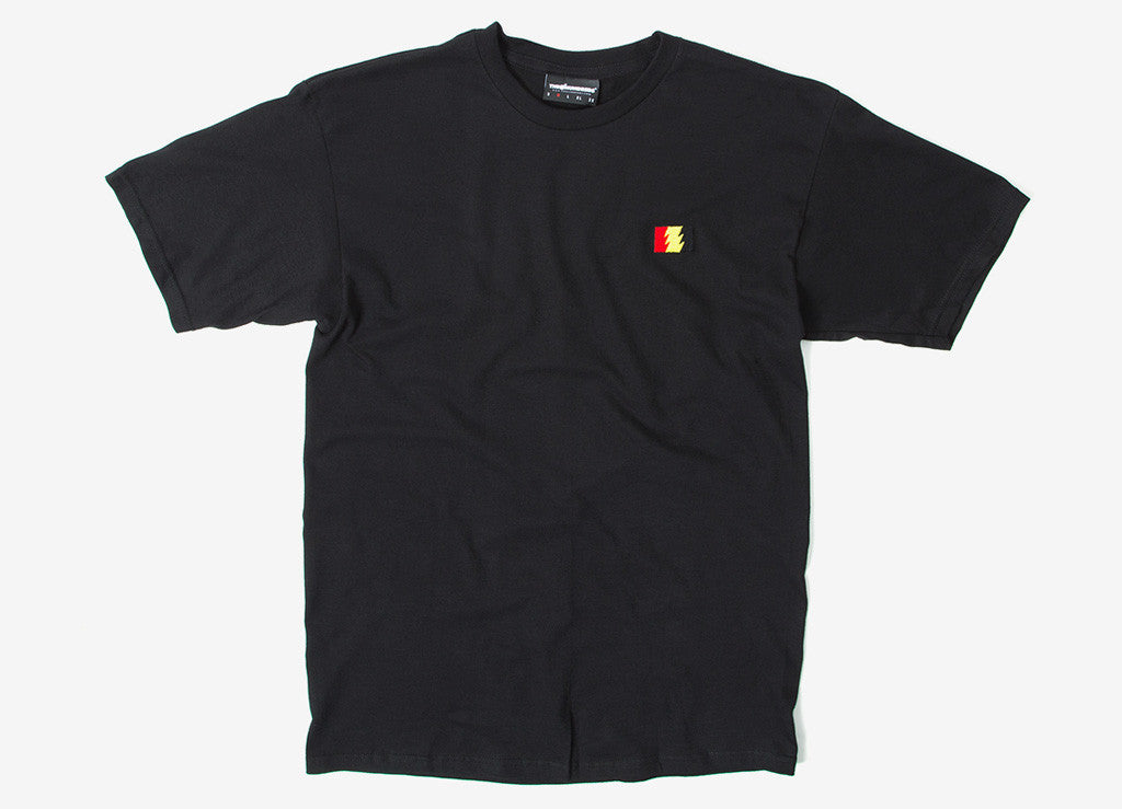 The Hundreds Flag Emblem T Shirt - Black