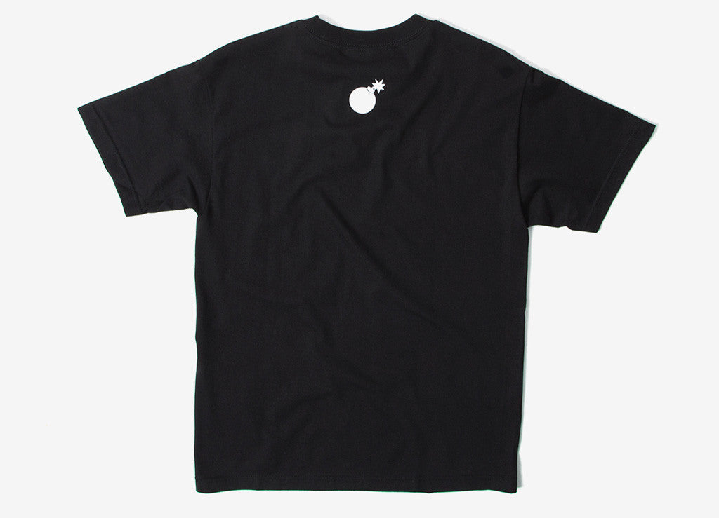 The Hundreds Forever Slant T Shirt - Black