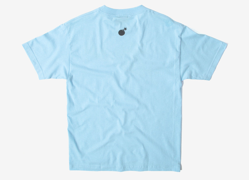 The Hundreds Forever Slant T Shirt - Powder Blue