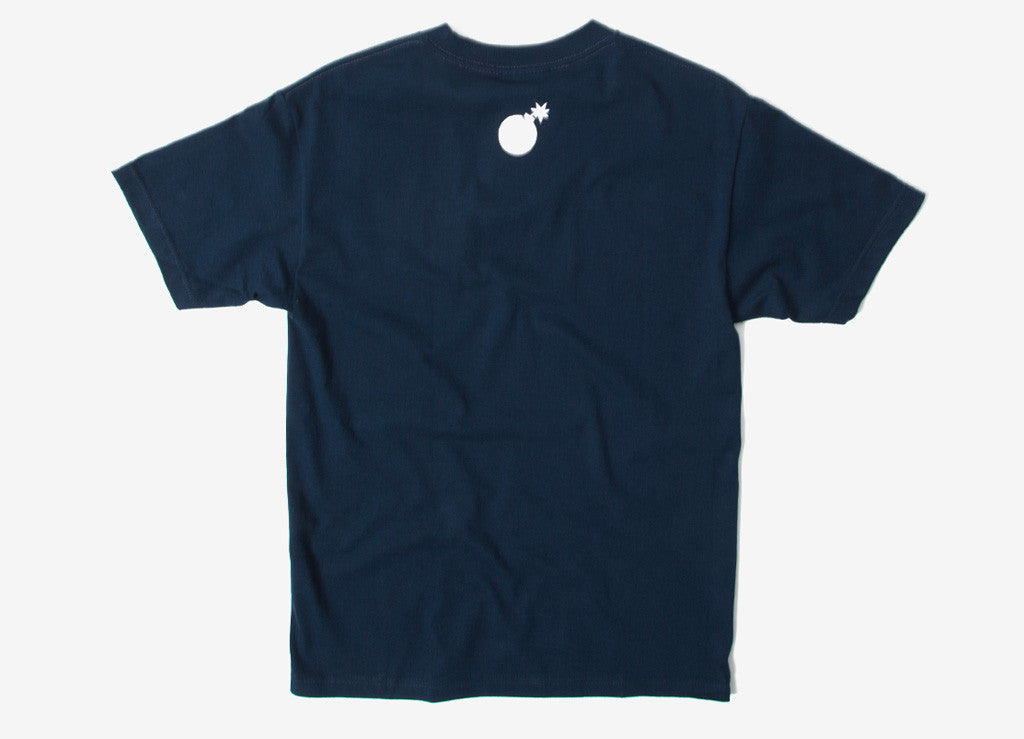 The Hundreds Forever Slant T Shirt - Navy