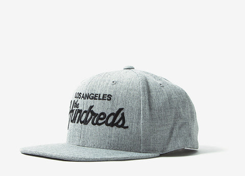 The Hundreds Forever Team Snapback Cap - Athletic Heather