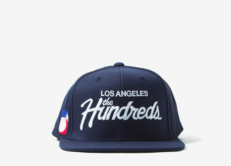 The Hundreds Forever Team Snapback Cap - Navy