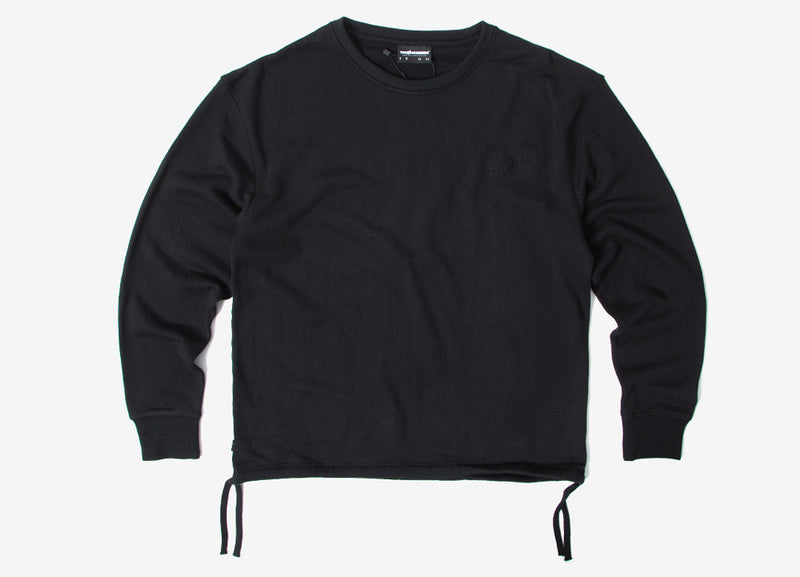 The Hundreds Jade Crewneck Sweatshirt - Black
