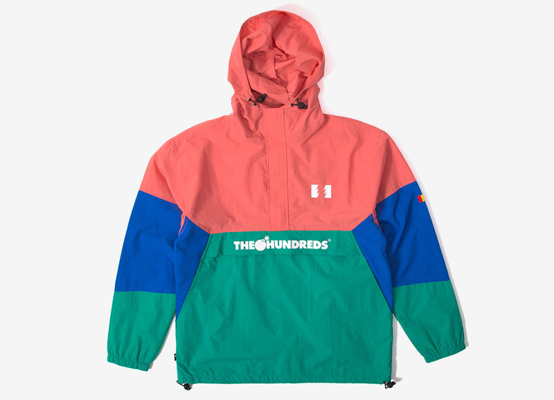 The Hundreds Landor Anorak - Pink
