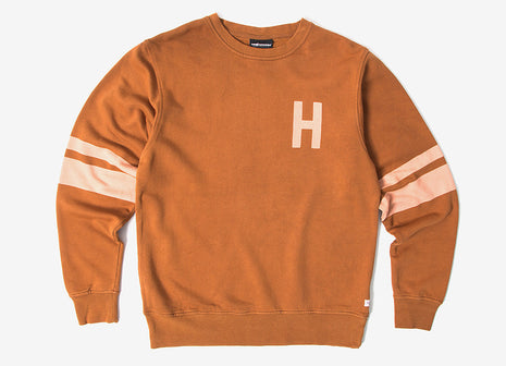 The Hundreds Madden Crewneck Sweatshirt - Field Tan