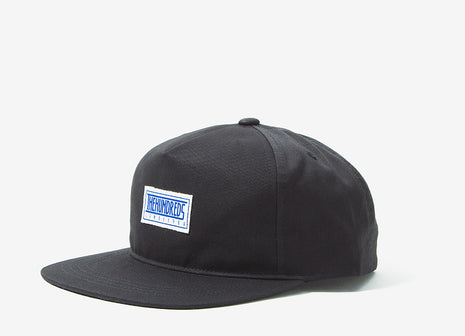 The Hundreds Mill Strapback Cap - Black