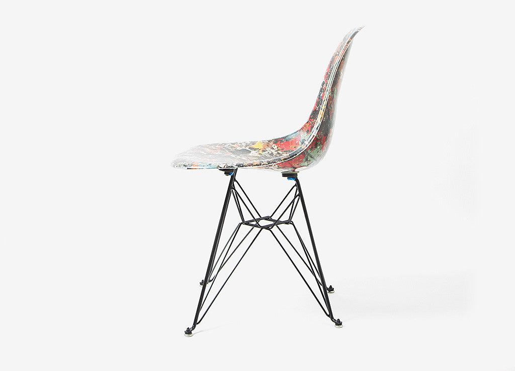 The Hundreds x Jackson Pollock x Modernica Chair