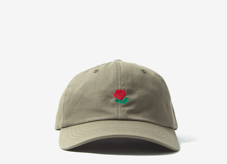 The Hundreds Rose Dad Cap - Dusty Green