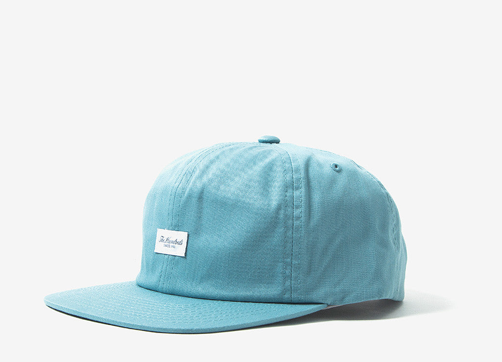 The Hundreds Script Snapback Cap - Pale Turquoise