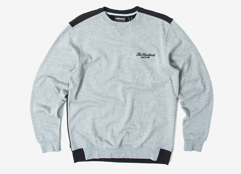 The Hundreds Steady Crew Sweatshirt - Heather Grey