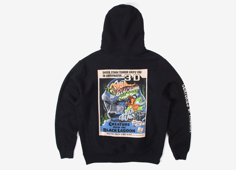 The Hundreds x Tristan Eaton Creature from the Black Lagoon Hoody - Black