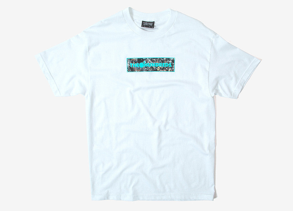 The Hundreds x Jackson Pollock Bar Fill T Shirt - White