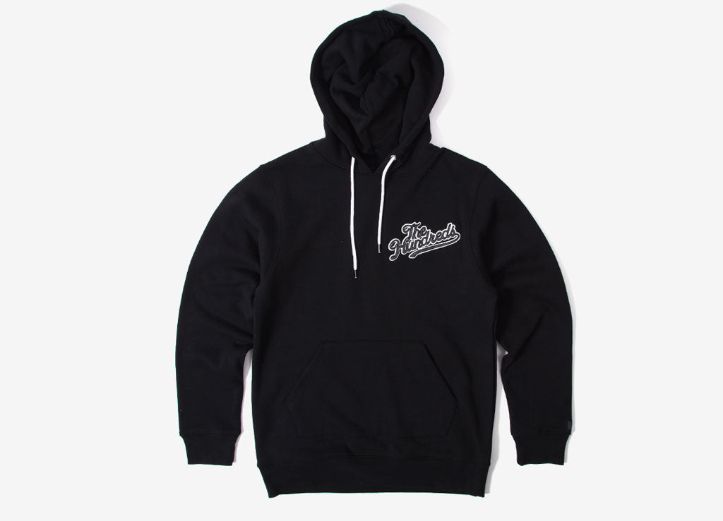 The Hundreds Yard Pullover Hoody - Black