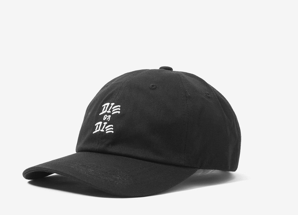 The Quiet Life Die Or Die Dad Cap - Black