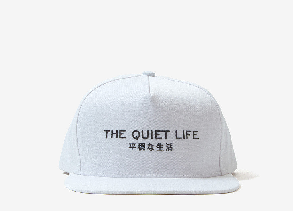 The Quiet Life Japan Snapback Cap - White