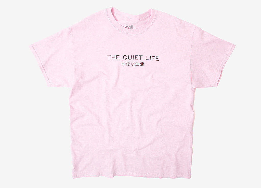 The Quiet Life Japan T Shirt - Pink