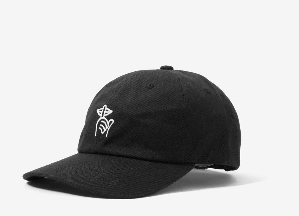 The Quiet Life Sssh Dad Cap - Black