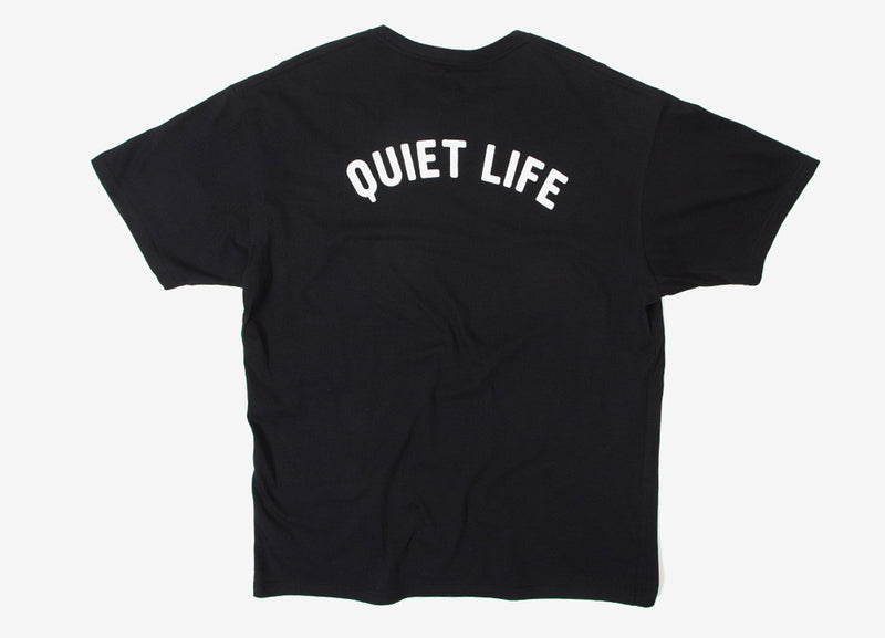 The Quiet Life Shhh T Shirt - Black
