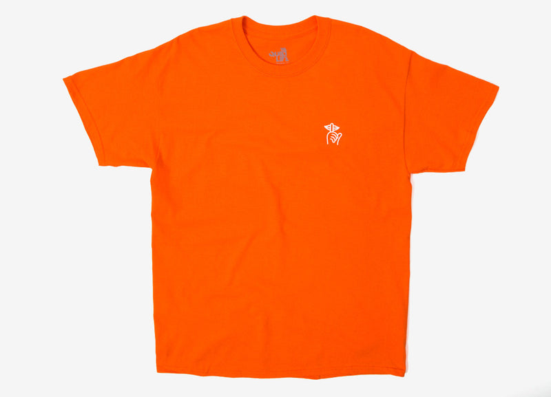 The Quiet Life Shhh T Shirt - Orange