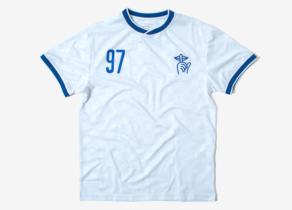 The Quiet Life Goalie Soccer Jersey - White