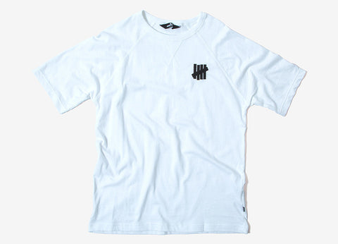 Undefeated U S/SL Raglan T Shirt - White