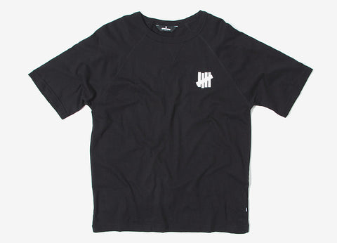 Undefeated U S/SL Raglan T Shirt - Black